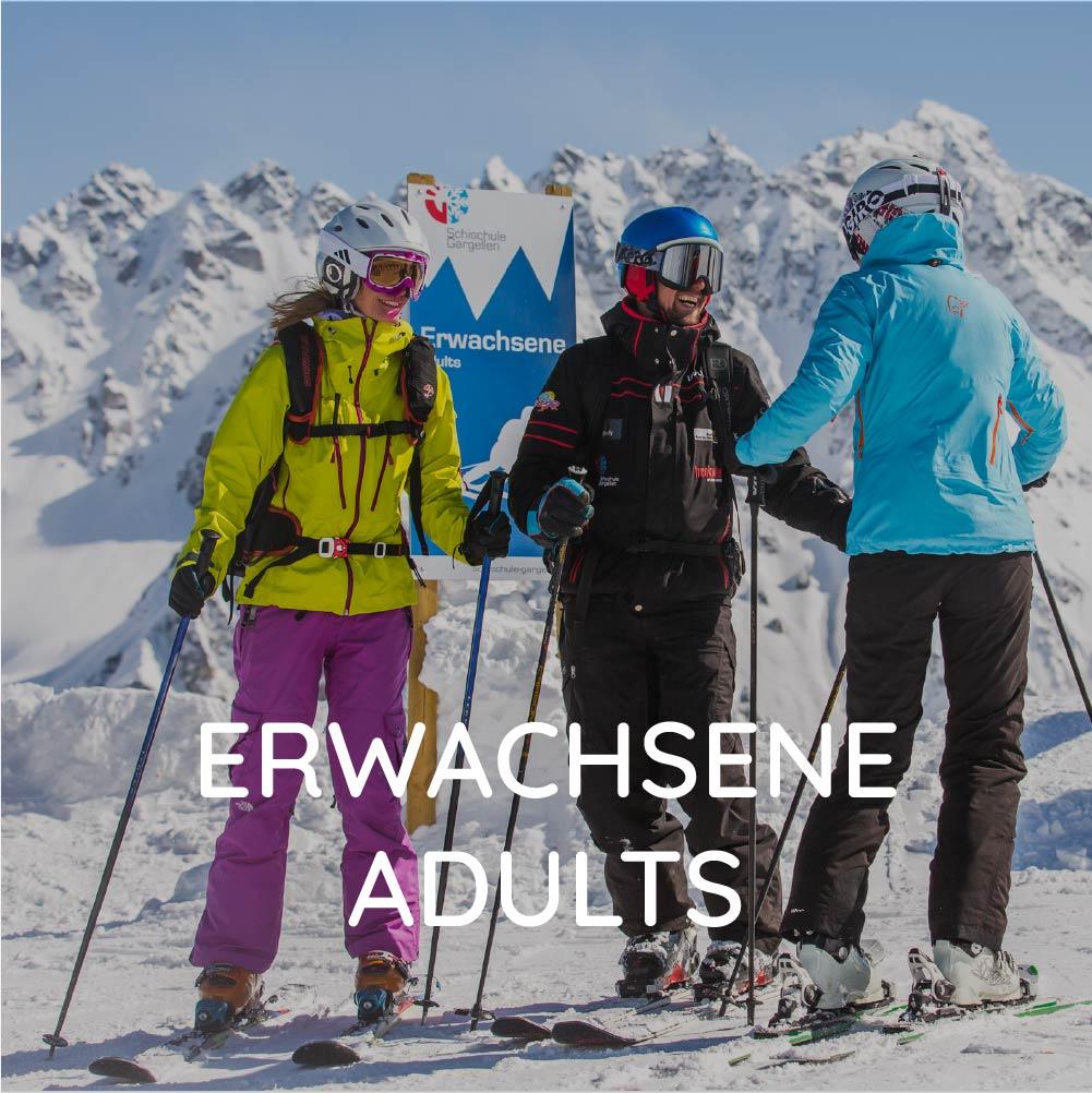 Ski courses adults