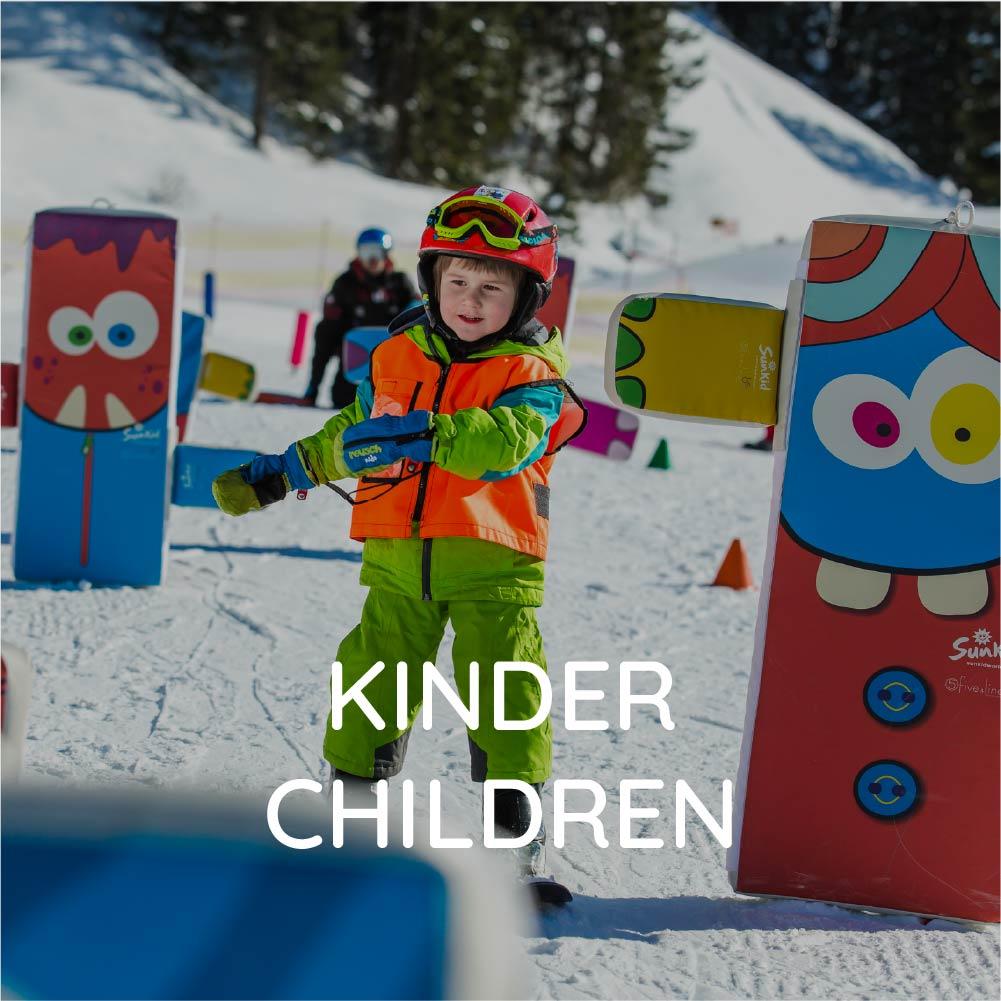 Ski courses children